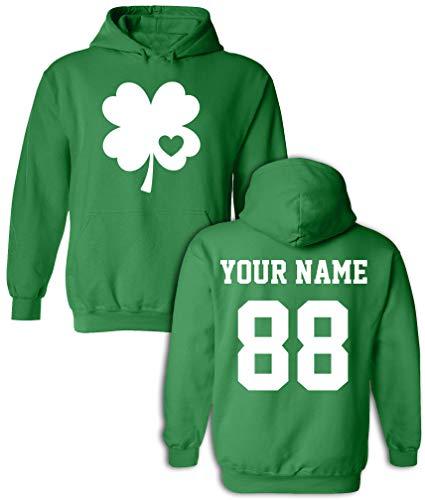 Custom Jerseys St Patrick's Day Hoodies - Saint Pattys Sweaters & Irish Outfits