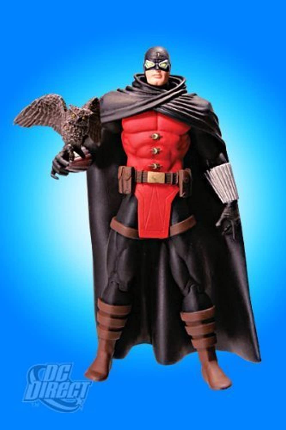 Dc Direct Modern JSA Series 1 Action Figure Dr. Midnite by JSA