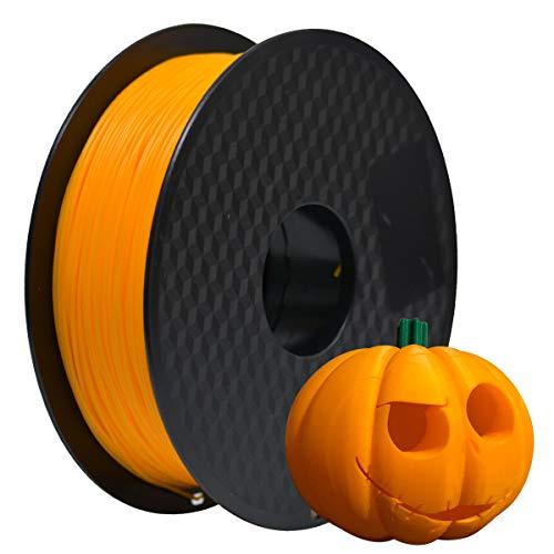 GEEETECH PLA Filament 1.75mm 1Kg spool for 3D Printer,Vacuum Packaging,Orange
