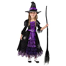 Fairytale Witch Cute Witch Costume Deluxe Set