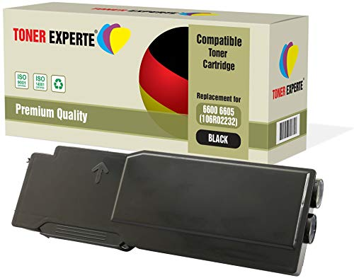 TONER EXPERTE® 106R02232 Nero Toner compatibile per Xerox Phaser 6600, 6600dn, 6600n, WorkCentre 6605, 6605dn, 6605n