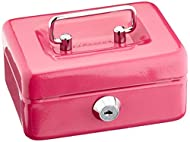 Cathedral steel cash box 4 inch ideal for petty cash and securing coins, notes and loose change Features plastic moulded removable coin tray with six small coin compartments leaving room for notes underneath Features easy depositing with single coin ...