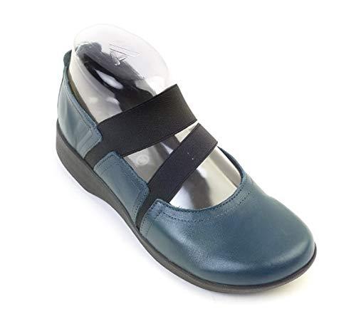 Arcopedico Blue Patrol Leather Betsy Shoes 9 M US
