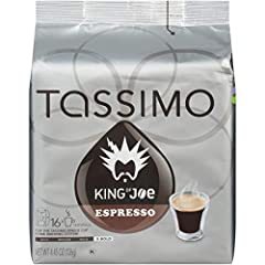 Dynamic, dashing, daring; Our extra bold roast will add some mystery to your day and keep you coming back for more 1 box, containing 16 T-Discs For use in all Tassimo Brewing Systems To use, open the brew lid and insert the T-Disc; close and follow t...
