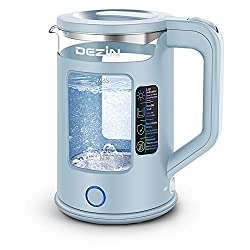 in budget affordable Dejin kettle, two-color LED and heat protection kettle, 1.5 liters, double …