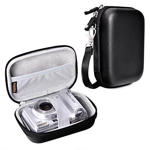 Hard Shell Shockproof Digital Camera Case Compatible for Canon Powershot SX720 SX730 SX620 HS G9X Panasonic Lumix DMC ZS50 ZS70 ZS60 TZ80 Nikon Coolpix A900 W100 Sony DSC-W830 W800 W810 WX500 HX90