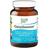 Calm Essence by Pure Essence - Natural Sleep Aid and Anti Stress Supplement- 15 Capsules