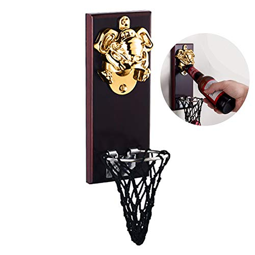 Creative Basketball Frame Bottle Opener Wall-Mounted Shot Beer Bottle Openers Openers The Best Choice for The Kitchen