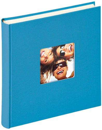 Walther Design Fun Album da Incollare, Carta, Oceano Blu, 30 x 30 cm