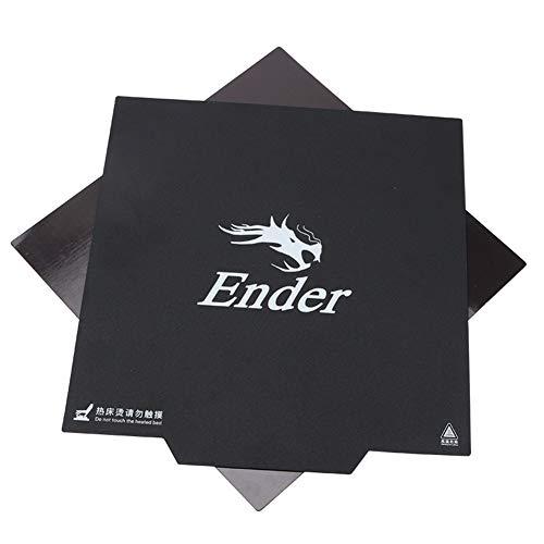 Zantec Hotbed sticker voor 3D-printer Creaderity Ender-3 met magnetisch oppervlak, 235 x 235 mm