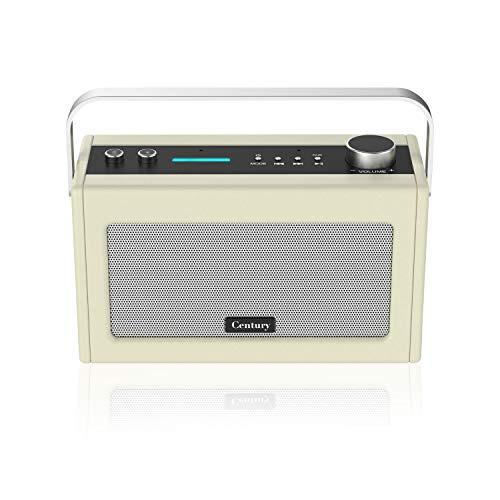 Century Internet Radio- Smart Wi-Fi Speaker with Alexa, Bluetooth, Smart Home Control, Multi-Room, News and Sport updates (Cream)