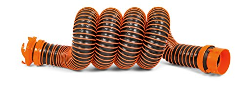 Camco RhinoEXTREME 20ft RV Sewer Hose Kit, Includes Swivel Fitting and Translucent Elbow with 4-In-1...