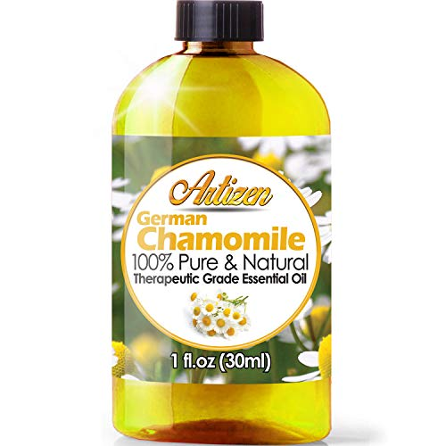 Artizen German Chamomile Essential Oil (100% Pure & Natural - UNDILUTED) Therapeutic Grade - Huge 1oz Bottle - Perfect for Aromatherapy, Relaxation, Skin Therapy & More!