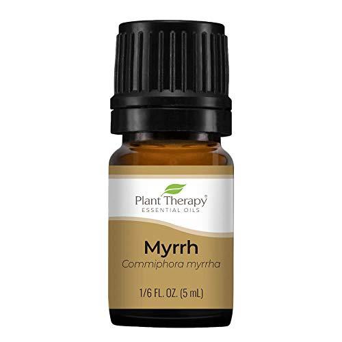 Plant Therapy Myrrh Essential Oil 5 Ml (1/6 Oz) 100% Pure, Undiluted, Therapeutic Grade