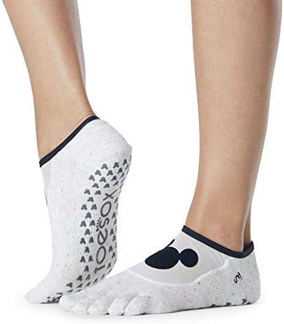 Toesox Grip Pilates Barre Socks – Sacramento Mall Slip Non Luna Overseas parallel import regular item Full fo Toe