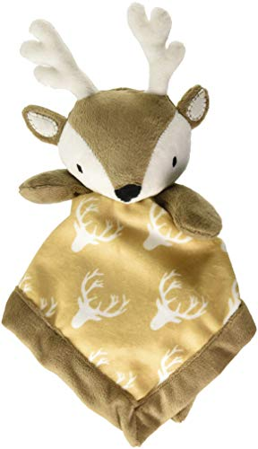 Levtex Home Baby Deer Security Blanket, Brown, 1.0 Pound