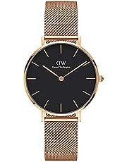 Daniel Wellington Petite Melrose, orologio da donna, 32 mm, in mesh