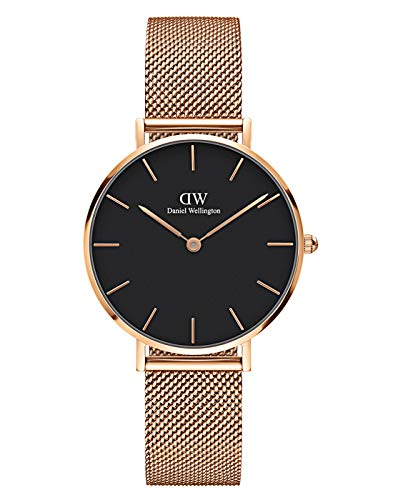 Daniel Wellington Women's Analogue Classic Quartz Watch with Stainless Steel Strap DW00100161