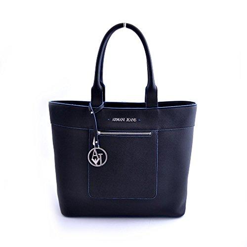 BORSA ARMANI JEANS SHOPPING BAG 922558 CC856 NERO