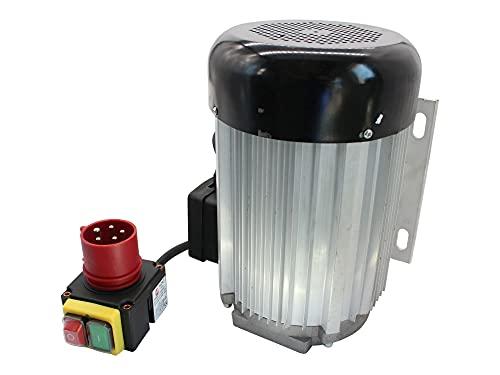 SECURA Elektromotor 400V + Schalter kompatibel mit Motec PH10000S Holzspalter
