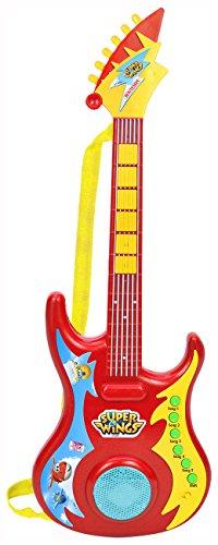Bontempi 24 6969 Elektronik-Rockgitarre, rot