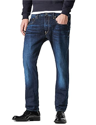 G-STAR RAW Herren Jeans Attacc Straight, Blau, 29W / 34L