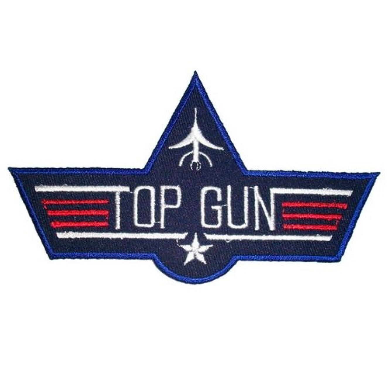 Top Gun  Iron On Embroidered Patch Logo Sew Jacket Uniform