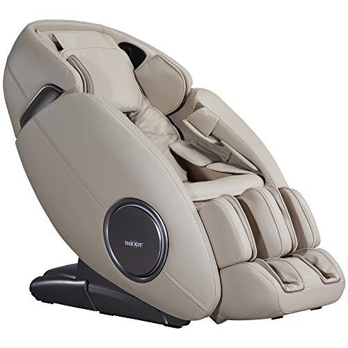Maxxus Massagesessel MX 12.0z Champagne, Bluetooth, Zero-Wall Funktion, Zero Gravity, Infrarot Heizelement, bis 150kg