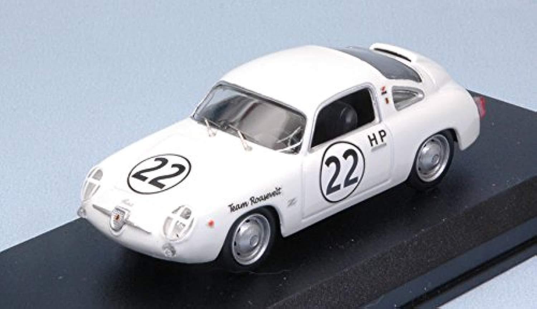 FIAT ABARTH 750 ZAGATO N.22 SEBRING 1960 RICHARDS-CtuttiANAN 1 43 Best modello Auto Competizione modellololo modellololino die cast