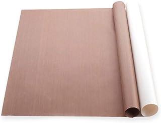 LLAAIT Tapis de Cuisson résistant réutilisable antiadhésif 60 * 40cm Feuille de téflon Papier de Cuisson Doublure de Gril ...