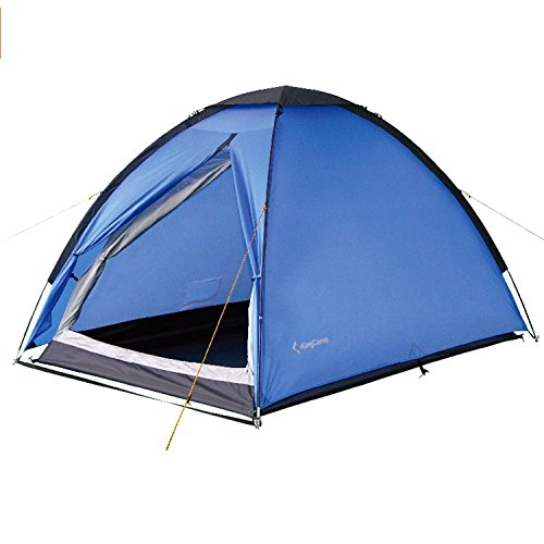 KingCamp 2-Person Tent 3-Season Lightweight Waterproof Backpacking Traveling with Carry Bag