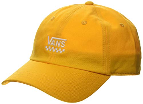 Vans Court Side Hat Gorra de béisbol, Amarillo (Cadmium Yellow SOE), Talla Única (Talla del Fabricante: OS) para Mujer