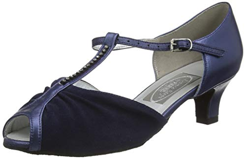 Freed of London Topaz, Zapatillas de Baile Mujer, Silver, 36 EU