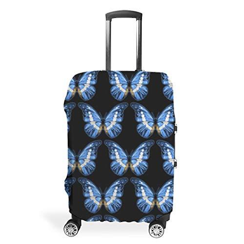 Funda protectora para maleta de viaje, elegante, 4 tamaños, para protección de equipaje, blanco (Blanco) - LIFOOST-XLXT