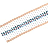 uxcell 300Pcs 220 Ohm Resistor, 1/4W 1% Tolerance Metal Film Resistors, Lead, 5 Bands for DIY Electronic Projects and Experiments