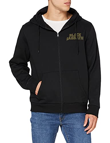 Rockoff Trade Tour 78 Zip Hoodie Sweat-Shirt à Capuche, Noir (Black), Medium Homme