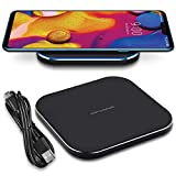Nauci QI Station de charge sans fil compatible avec LG G7 / G8X / G8S ThinQ Chargeur sans fil...