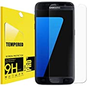 [2-Pack] for Galaxy S7 Tempered Glass Screen Protector Case-Friendly,antsplust[9H Hardness][Anti-Scratch] HD Clear Glass Screen Protector for Samsung Galaxy S7