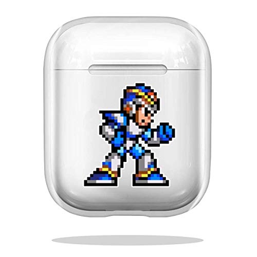 Case Cover Megaman X Compatible with Airpod Pro Airpods Accessories Anti Absorption
