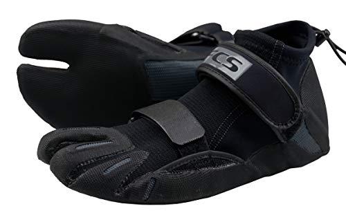 FCS エフシーエス SP2 REEF BOOT 1.5mm リーフポイント用ブーツ SUPブーツ(US11(29.0cm),BLACK)