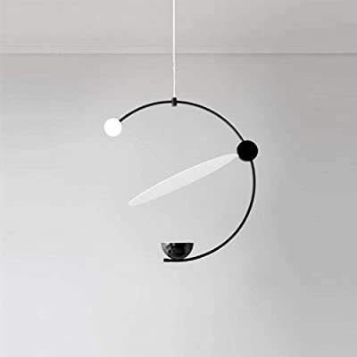 Mopoq Creativo, Intrigante, Minimalista diseño LED lámpara de ...
