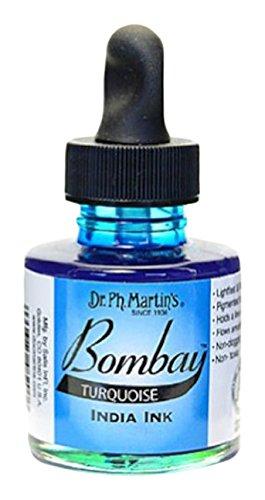 Dr. Ph. Martins Bombay India Ink, 1.0 oz, Turquoise