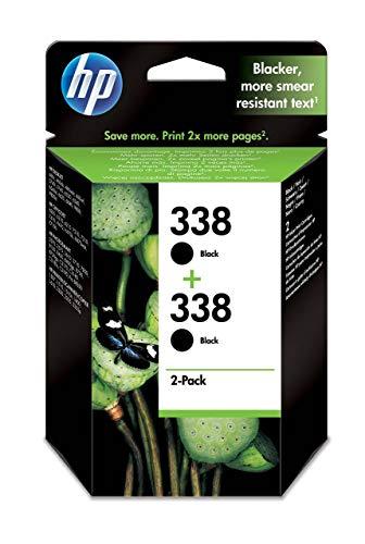 HP 338 CB331EE pack de 2, cartouche d'encre Authentique,...