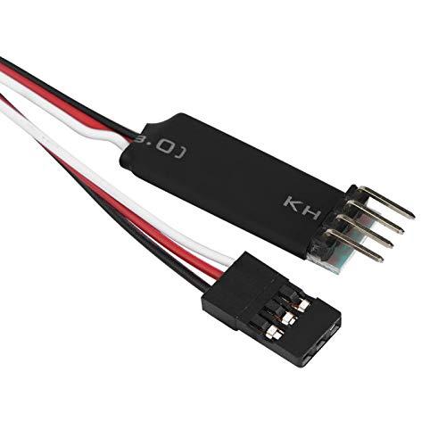 Wosune Interruptor de luz de Coche RC, Control Gratuito de Interruptor de luz RC para Aficionados para Jugadores para entusiastas del Aire Libre para el hogar