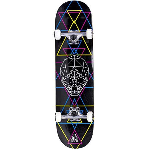 Enuff Skate Completo Geo Skull BK 8.0