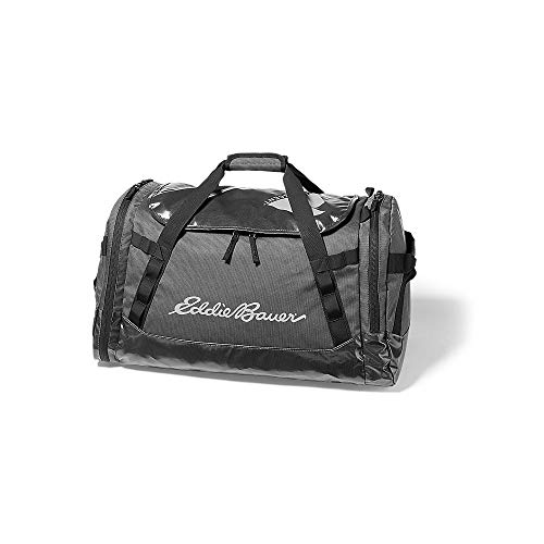 Eddie Bauer Unisex-Adult Maximus 2.0 Duffel - 70L, Onyx Regular ONE SIZE