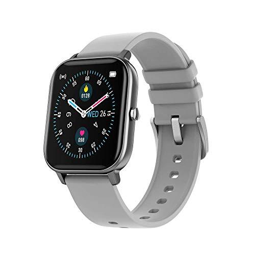 OH Smart Watch 1.4 Hd Pantalla Ip67 Inforión Impermeable Deportes de Música, Recordatorio de Llamadas Android Y Ios Exquisito/Gris