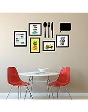 Art Street Art Print Wall Photo Frame for Dining Table Kitc