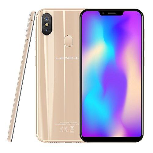 Leagoo S9-5.85' 4G LTE Smartphone, 18:9 Infinity Display, Android 8.1 Octa Core 4GB+32GB, 3 Fotocamera, Riconoscimento del Viso, Impronte Digitali, Dual SIM Telefono Cellulari Sbloccato