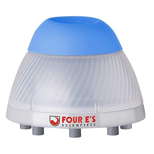 Four E's Scientific Mini-Vortex-Mixer, 0-3000 U/min, 50 ml, 5,5 mm Durchmesser, für Labor, Klassenzimmer, Klinik, Nagellack, Acrylfarben